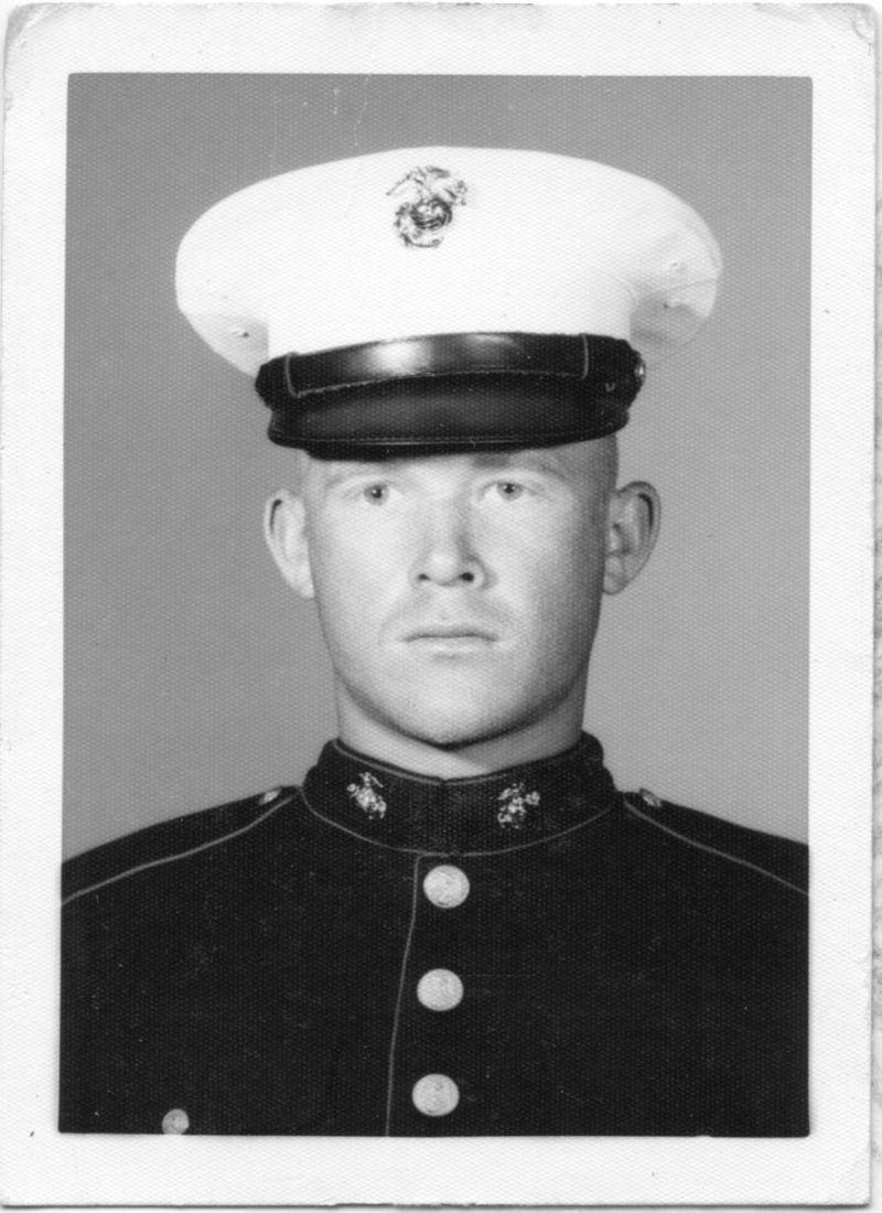Scott as Marine